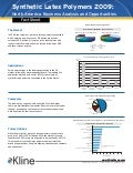 Synthetic Latex Polymers 2009 North America - Fact Sheet