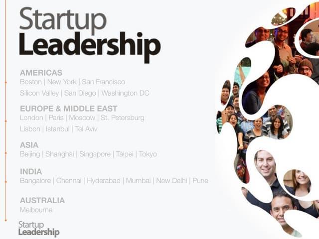 About the Startup Leadership Program (SLP)