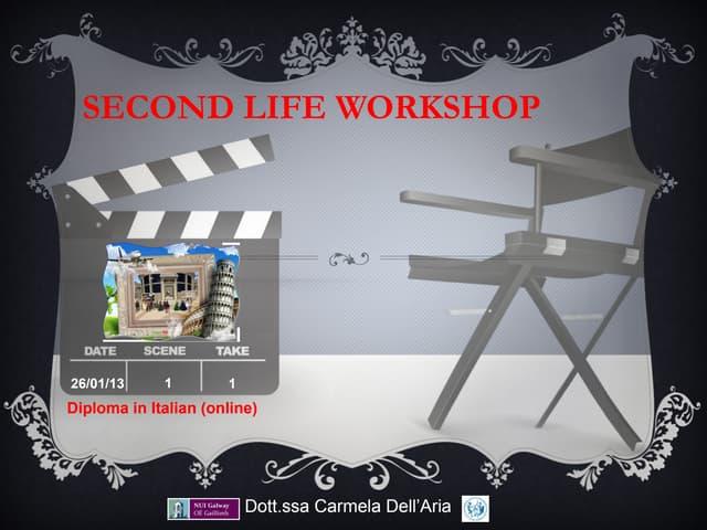 SL workshop for NUIG