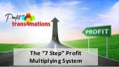 Beyond Business Coaching - the 7 Step Profit Multiplying System
