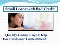 Helpful Benefits Available With Small Loans Online
