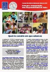 SMAM 2021: folder de mobilização da WABA / Proteger a Amamentação