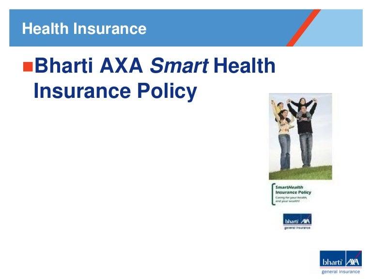 bharti axa health insurance brochure