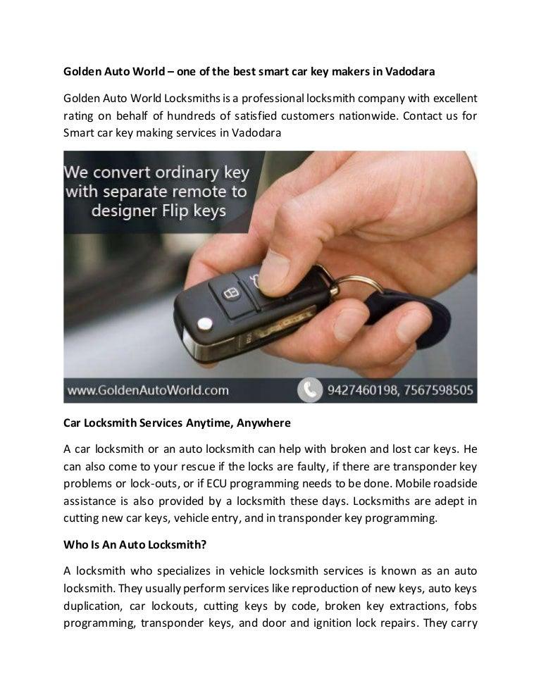 Smart Car Key Replacement >> Smart Car Key Maker In Vadodara Smart Car Key Maker