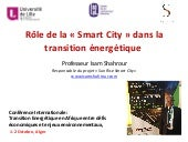 Smart City au Service de la Transition Energétique: