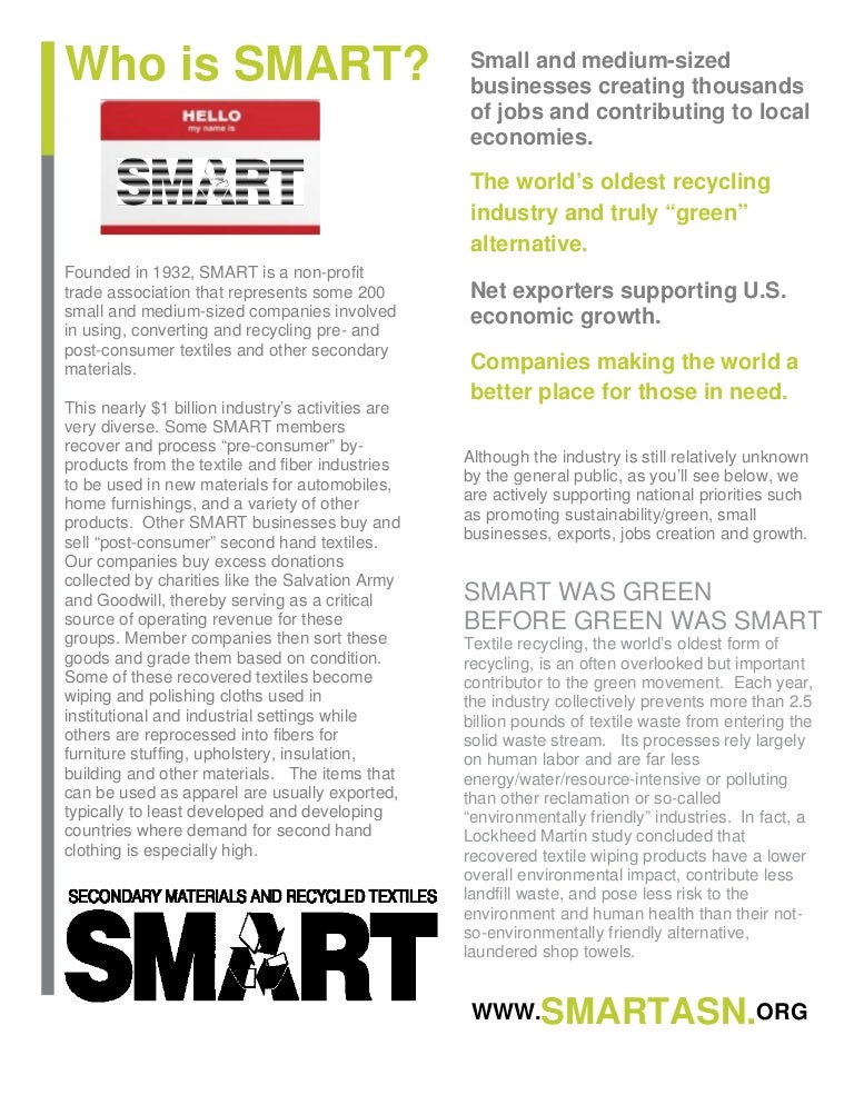reuse  3 smart congressional outreach flyer