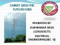 Smart grid the future grid