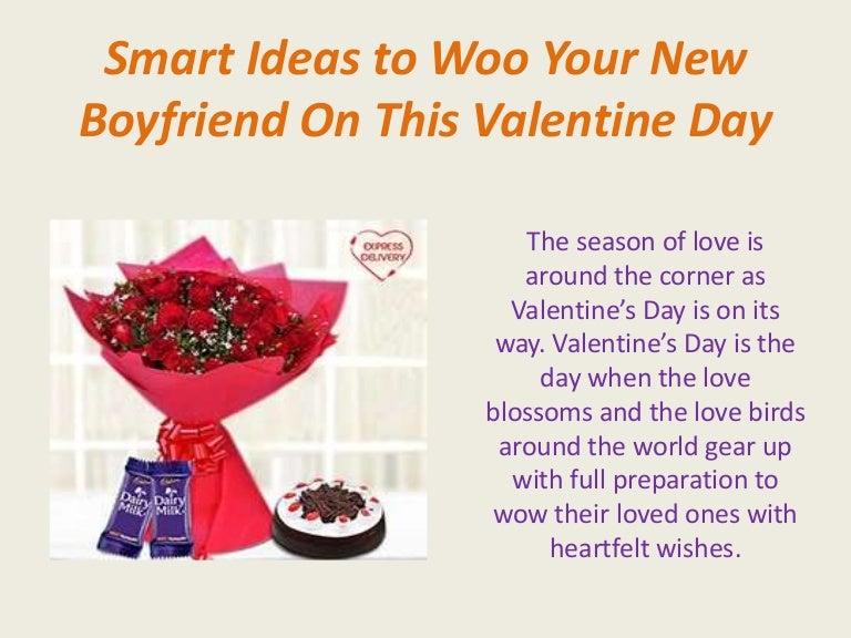 smart ideas to woo your new boyfriend on this valentine day