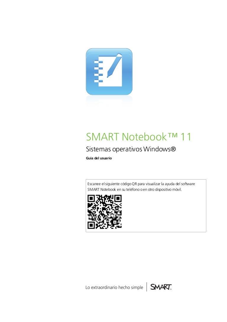 SMART notebook.11 manual.windows