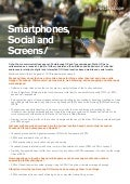 Smartphones, social & screens - a study of urbanite behaviours & attitudes