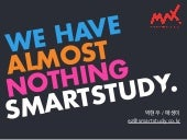 WE HAVE ALMOST NOTHING, SMARTSTUDY