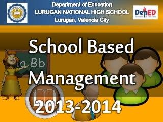 School Based Management