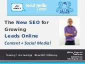 The New SEO for Growing Leads Online: Content + Social Media - Mike Gingerich