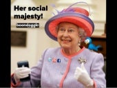 Her Social Majesty! When content is King and conversation is Queen, they make beautiful babies