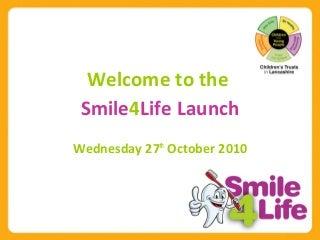 Smile4life launch presentation