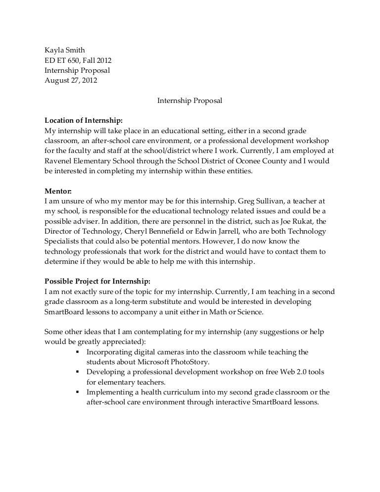 Doc600730 Internship Letter of Intent Sample Internship – Internship Letter of Intent