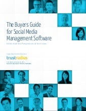 Social Media Management Software Buyers Guide from TrustRadius