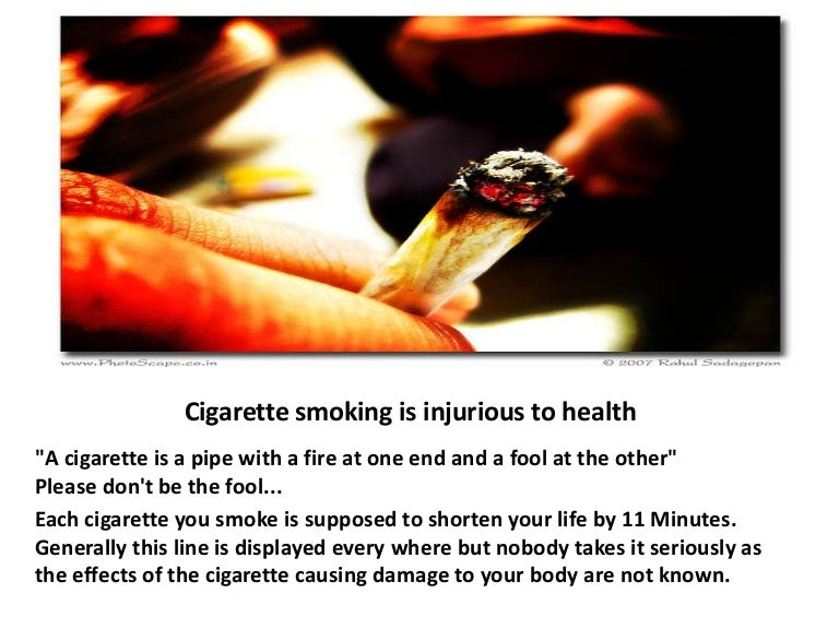 the health damages of cigarette smoking essay Smoking is bad for health it is a very familiar slogan that you can easy to see in all pack of cigarettes and in public places however, there is a fact that, despite knowledge about smoking damage, the number of people who smoke is increasing day by day.