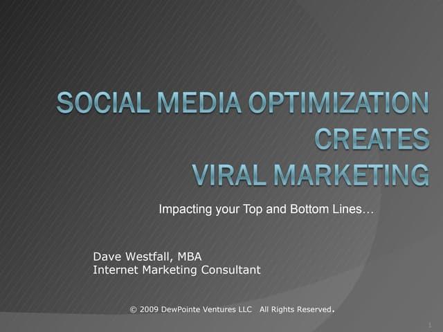 Social Media Optimization (SMO) Strategies