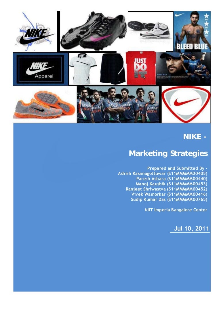 nike marketing research Nike marketing strategy - emotional branding nike ad celebrating mo farah olympic wins nike uses this old-as-time structure differently than most by focusing on an internal foe rather than an external.