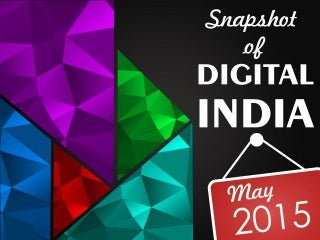 Snapshot of Digital India - May 2015
