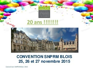Snprm paris convention