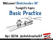 Sketchnotes-SF Meetup :: Round 23 :: Basic Practice [Tue Apr 26, 2016]