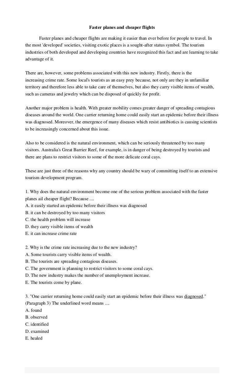 Soal dan jawaban teks reading reading text bahasa inggris kristyandbryce Image collections
