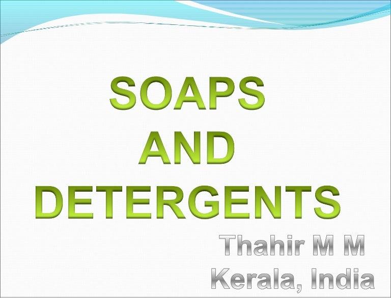 foaming capacity of soaps pdf free