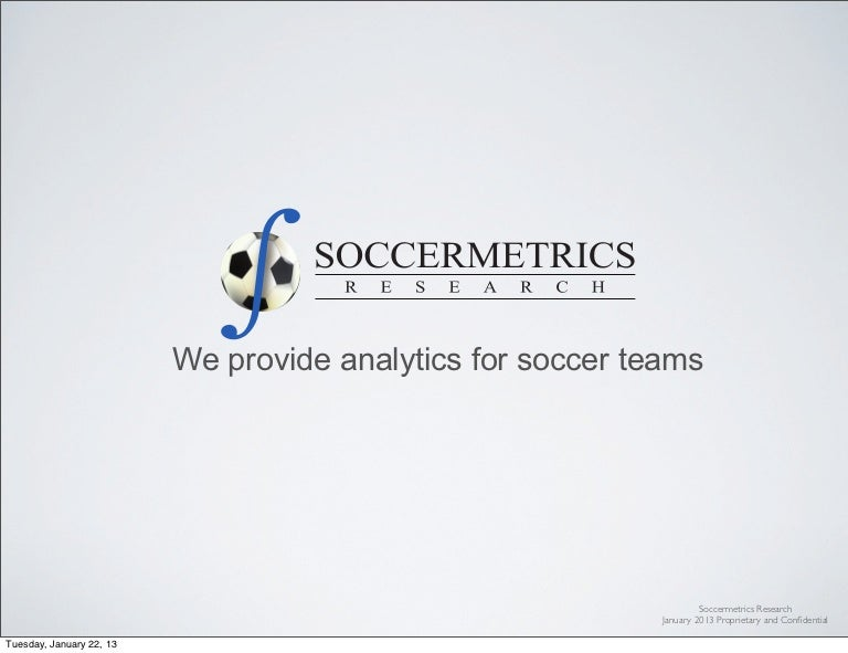 Soccermetrics Science Of Soccer Statistics Sheets - image 6