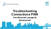 Social Connections 13 - Troubleshooting Connections Pink
