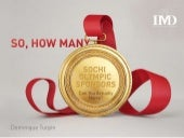 So, How Many Sochi Olympic Sponsors Can You Actually Name?