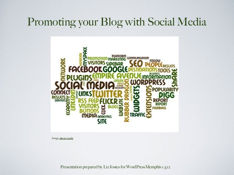 Using Social Media to Promote your WordPress Blog