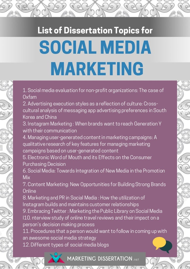 Effects of Social Media on the Youth Dissertation Topics and Titles | Research Prospect