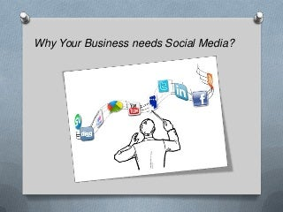 Why Your Business needs Social Media?