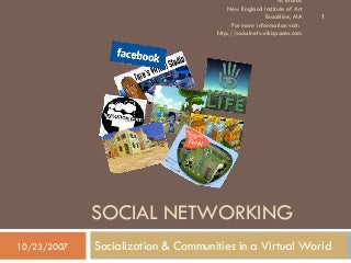 social-networking-socialization-andcommu