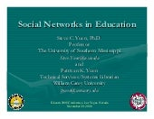 Social Networks In Education