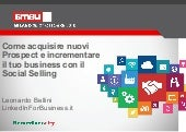 Social Selling per il business - SMAU Milano 2016