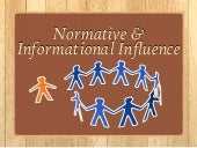Nomative & Informational Influence