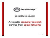 Social Bullseye Services Overview