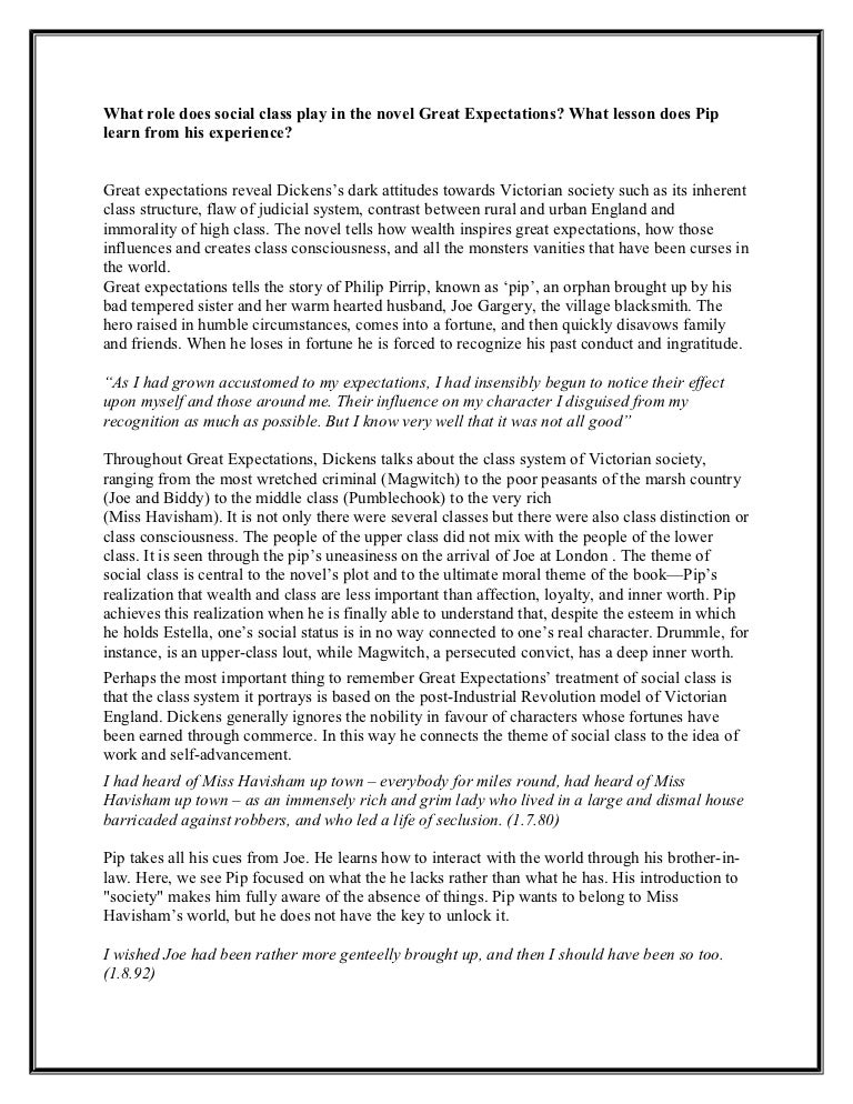 Great expectation essays pip racism research paper topics