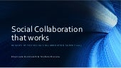 Social collaboration that works