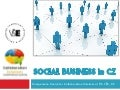 Social Business in CZ/SK – Local experience, use-cases, traps & pitfalls - Tomas Feige