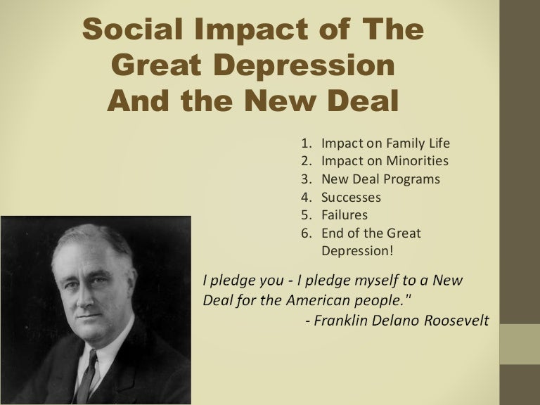 the impact of the great depression on the lives of the american people How the great recession has changed life in america i overview of the 13 recessions that the american public has endured since the great depression of 1929-33, none has presented a more punishing combination of length, breadth and depth than this one.