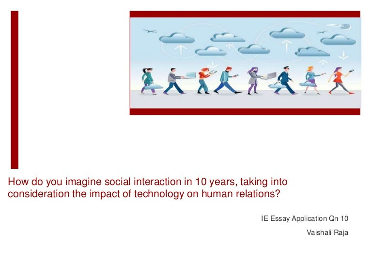 social interaction and technology
