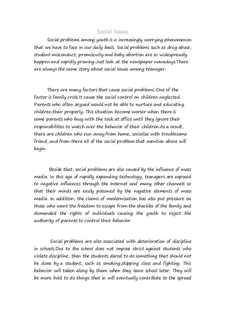 essay on problem of discipline