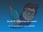 Social IT - Realizing the Dream 1990-2015