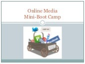 Social media mini bootcamp slides