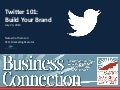 Twitter 101: Build your Brand