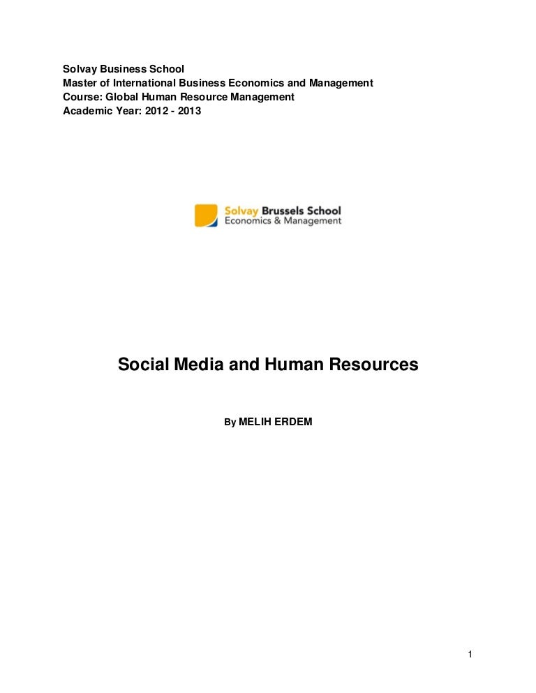 Social media and human resources – Skills Worksheet Vocabulary Review